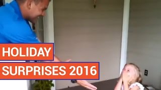 Holiday Surprises Video Compilation 2016