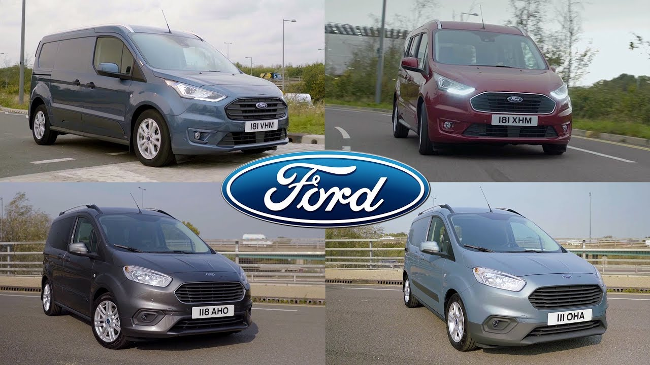 2018 Ford LCV Range: Tourneo Connect | Transit Connect | Tourneo Courier | Transit Courier - YouTube