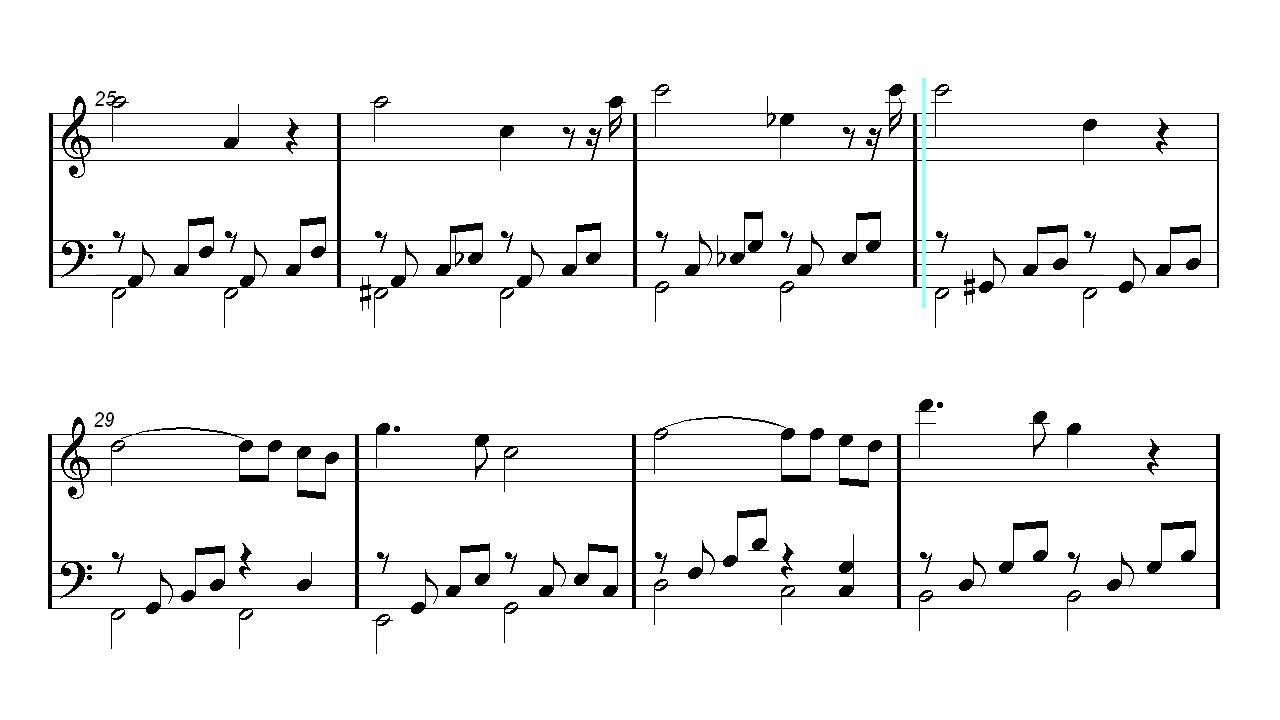 Piano Sheet Music - Ave Maria - Bach/Gounod - Christmas Song - Xmas ...