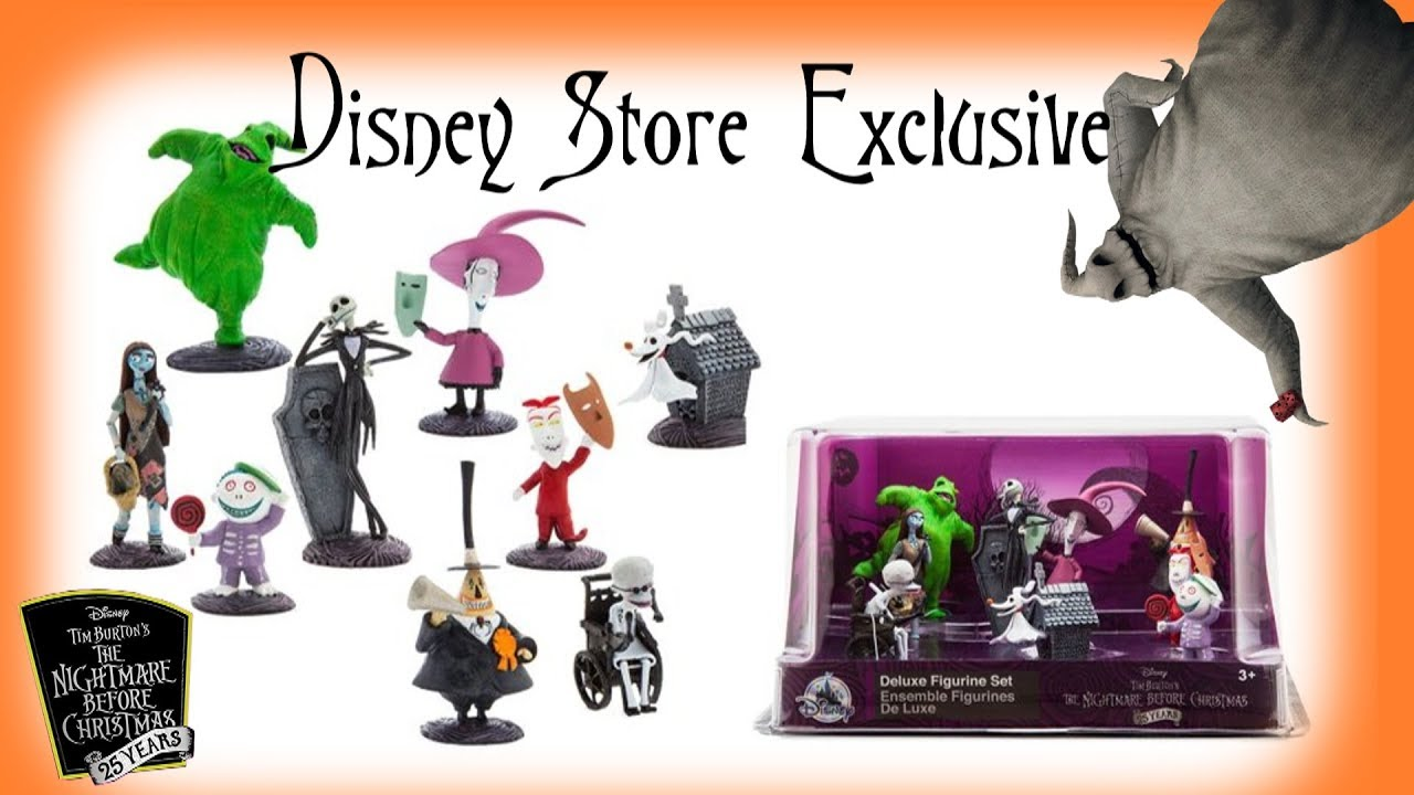 Nightmare Before Christmas Deluxe Figure Play Set Disney Store ...