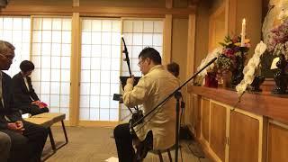 寺門恵子さんの伴奏に合わせて.