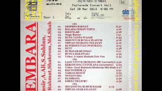 05 Rupa Tanpa Wajah-Kembara Live reunion Singapura 30/03/2013