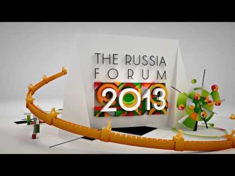 RUSSIA FORUM 2013 motion design