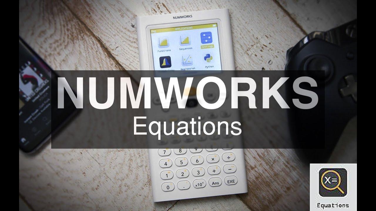 Numworks Crash Course: Tutorial Series   TI84CalcWiz