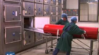A mortician's life in China