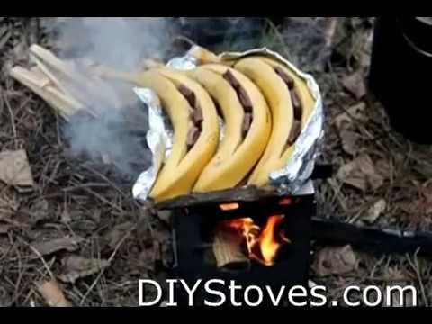DIY Backpacking Wood Stove , 30 Variants