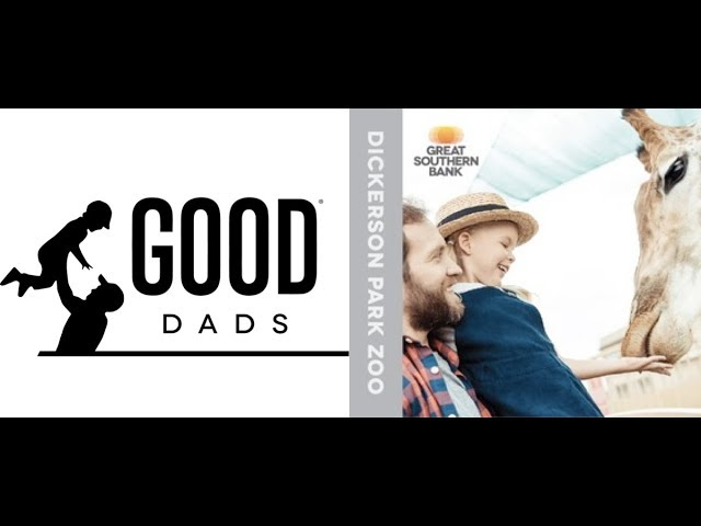 Good Dads at Dickerson Park Zoo, Sponsored by Great Southern Bank