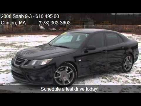 2008 saab 9 3 turbo x for sale in clinton ma 01510 at clint youtube. Black Bedroom Furniture Sets. Home Design Ideas