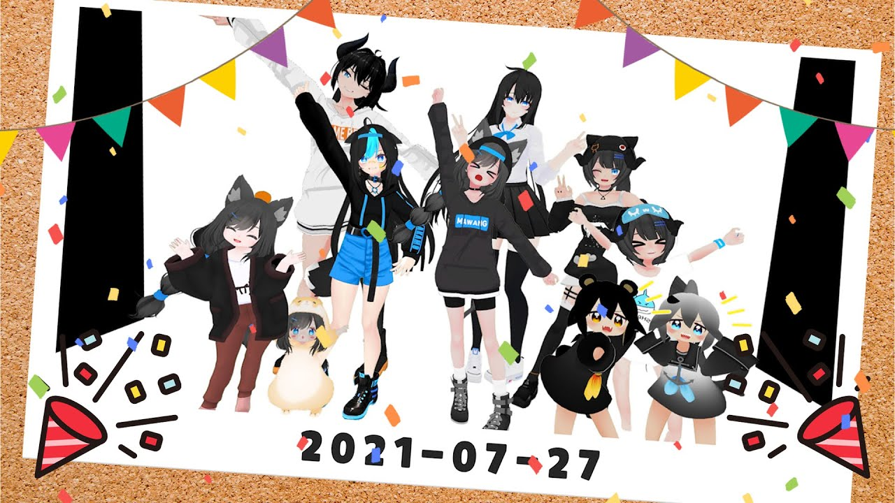 1st anniversary of mawang !! Let me introduce my team's character name