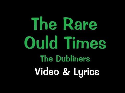 The Rare Ould Times - Karaoke