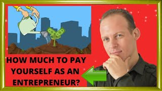 How much to pay yourself as the business owner