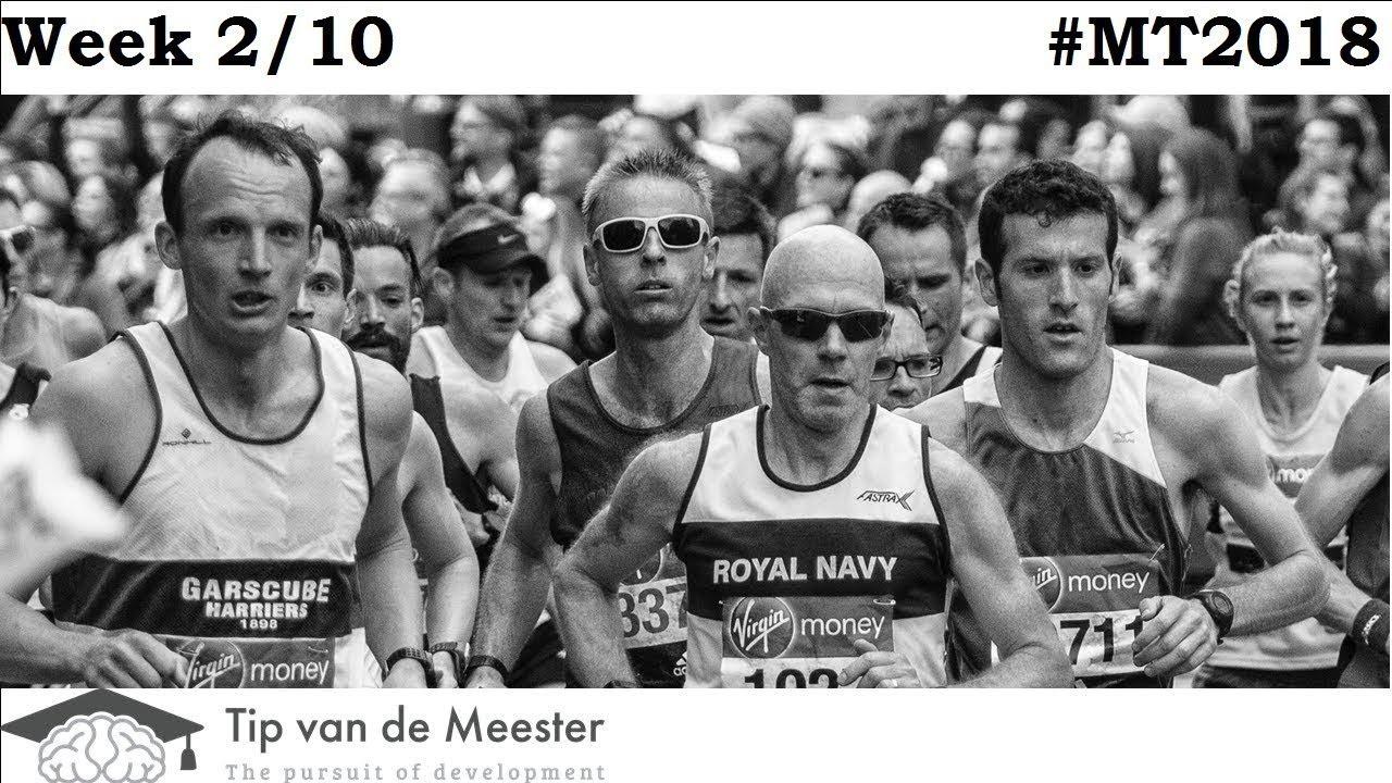 Tilburg Marathon | Training on a Plant based Diet | WEEK 2 | #MT2018
