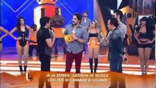 Theila Sabrina - Zezé Di Camargo e Luciano junto com Gusttavo Lima - Legendários 25/01/14