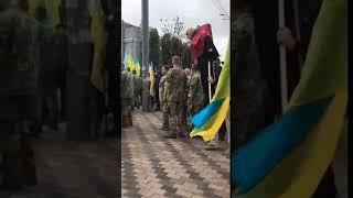 Под посольство России в Киеве принесли Путина. 29.08.2018