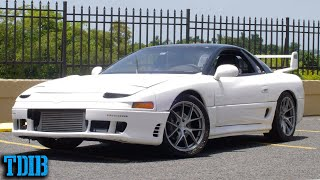 homepage tile video photo for Single Turbo Mitsubishi 3000GT VR4 Review! When Mitsubishi Hadn't Lost Its Way :(