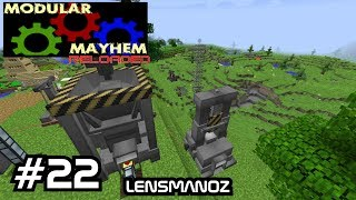 Minecraft - Modular Mayhem Reloaded - Ep 22 - Where did my steam go?