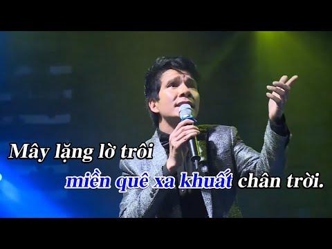 Karaoke | Câu Hò Bên Bờ Hiền Lương - Hồ Quang 8