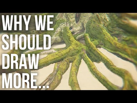 Why We Should Draw More (and Photograph Less)