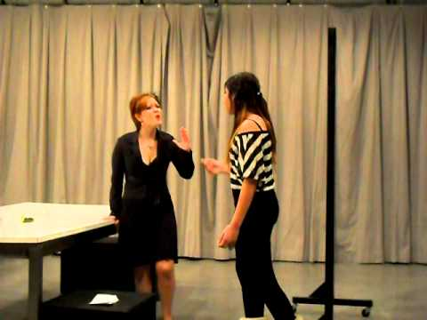 Directing Class Scenes: April 2015: The Next Mrs  Anderson   Pyin Bala
