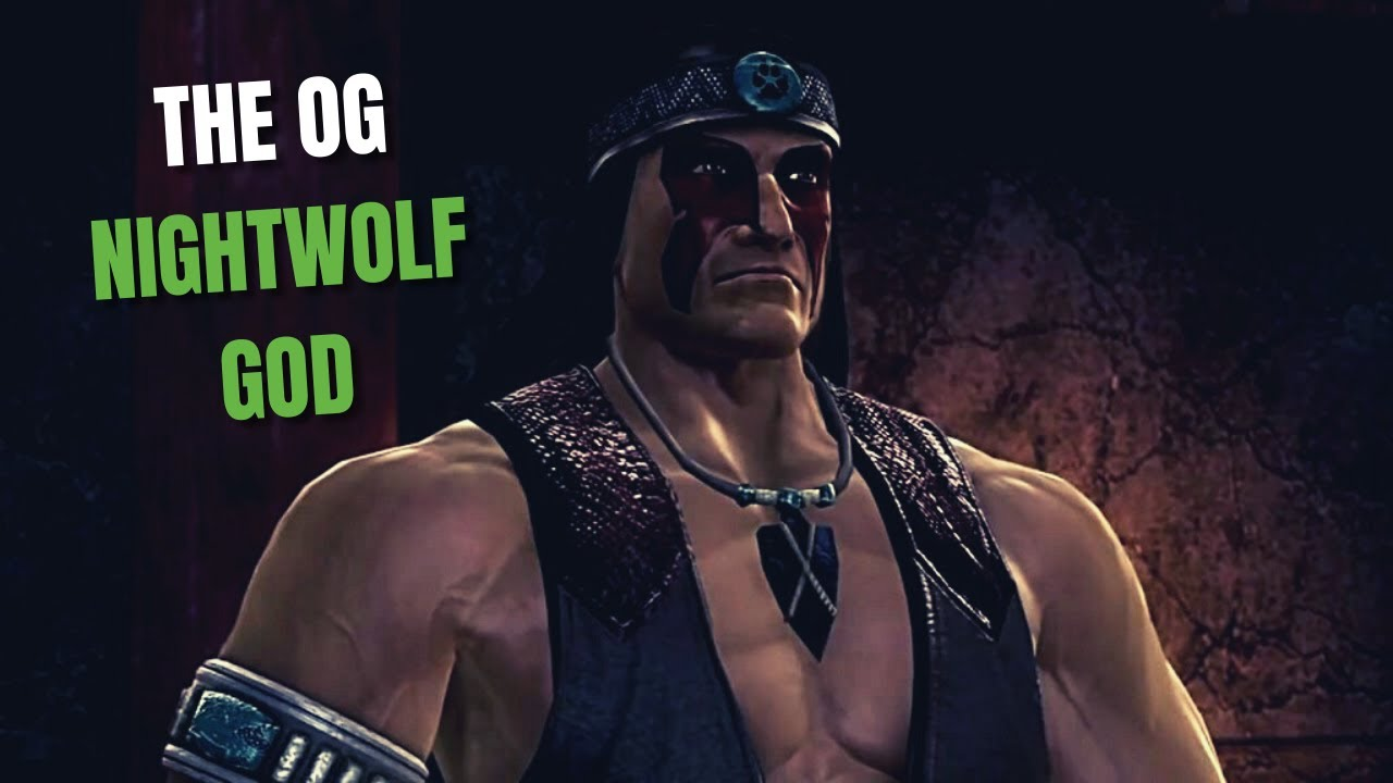 MK9 - Playing The Best Nightwolf Player