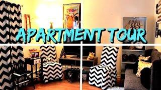Apartment Tour 2016 | Surprise Reaction | One Bedroom Apartment | AngieBTV