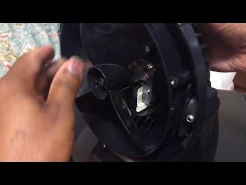 Vornado 533 Fan Oiling