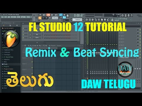 FL Studio 12 #1 Basic Song Beat Syncing Tutorial |Telugu Tutorial | DAW Telugu