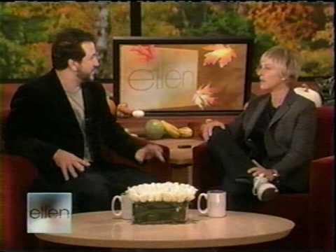 Joey on Ellen 11/26 part 1