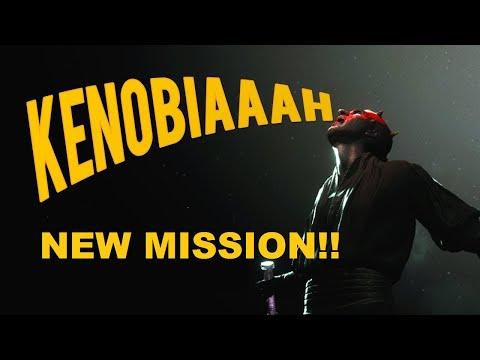 KENOBI EMOTE NEW MISSION!! Darth Maul - How To Unlock? (Battlefront 2)
