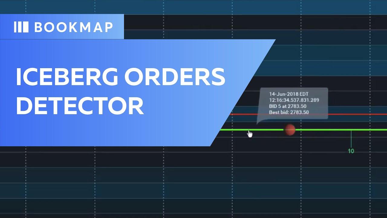 Iceberg orders detector