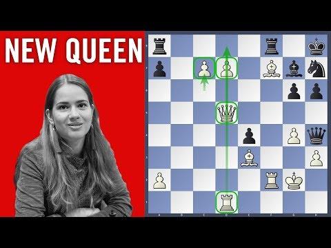 New Queen - Kashlinskaya vs Sevian | Chess.com Isle of Man International 2018
