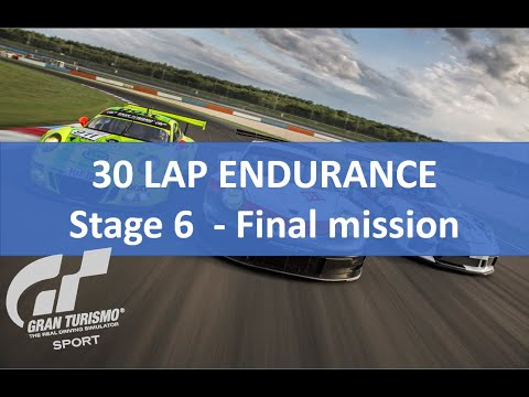Gran Turismo GT Sport | Mission Challenge | Stage 6 Endurance Event GOLD