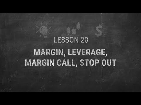Lesson 20 Margin Leverage Margin Call Stop Out Youtube -
