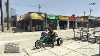 GTA Hitting people from bikes??