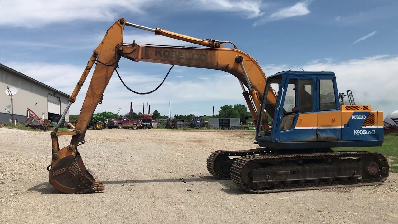 Kobelco K905LC-II Excavator BigIron Auctions