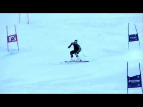 Ted Ligety Soelden training slow motion