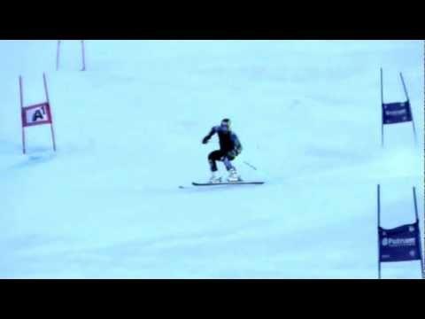 Ted Ligety Soelden training slow motion
