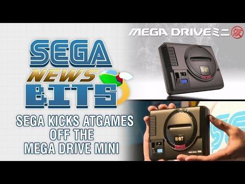 SEGA Kicks AtGames Off The Mega Drive / Genesis Mini thumbnail