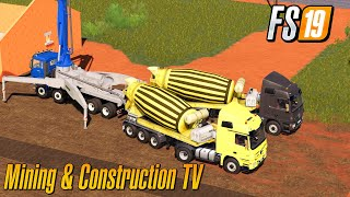 Produce And Sell Concrete Mining And Construction Map Economy Map Farming Simulator 2019
