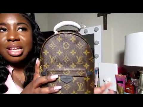 BOUJEE ON A BUDGET | LOUIS VUITTON MINI PALM SPRINGS BACKPACK UNBOXING +MODISHBAGS | BrittneyBeatsxo thumbnail