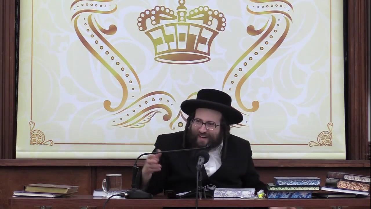ר' יואל ראטה - פארגין דיין ווייב - ה' וארא תשע''ט לאברכים - R' Yoel Roth