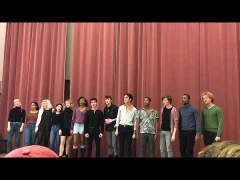 """CMU MT class of 2022 singing """"Why We Tell The Story"""" from """"Once on This Island"""""""