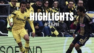 HIGHLIGHTS: Columbus Crew vs. Philadelphia Union | March 22, 2014