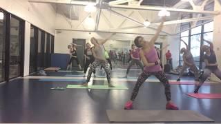 Фитнес - пилатес. Упражнения для похудения.