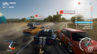 Forza Horizon 3 PC - 1999 Dodge Viper GTS ACR [S1 Class] Multiplayer Race Gameplay + Top 10 Rivals