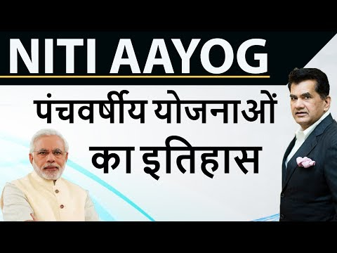 Five year plans - History of 1st to 12th Five year plans of India - NITI Aayog & Planning Commission