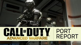 Call of Duty: Advanced Warfare - Early Port Report [60fps]