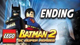 LEGO Batman 2 DC Super Heroes Walkthrough - Part 30 ENDING Let