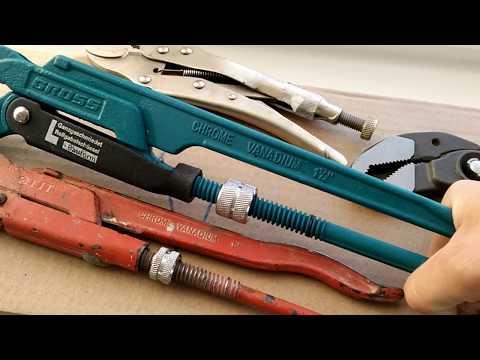 Разводные ключи разных производителей ( Knipex, BAHCO, Fit)