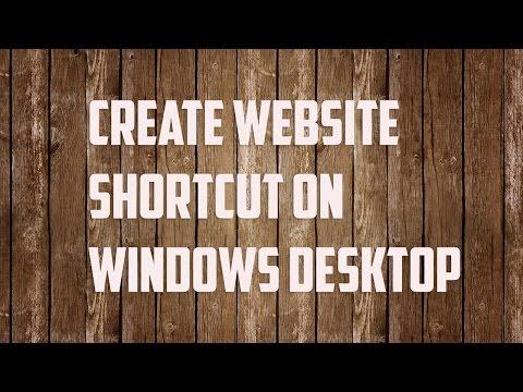 Website Shortcut: Create Website Shortcut On Desktop In Windows 10
